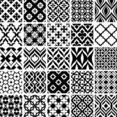 Fényképek fekete-fehér minták összessége