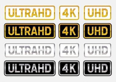 UltraHD logos