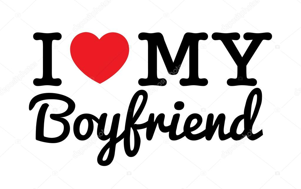 my boyfriend Cover your body with amazing i love my boyfriend t-shirts from zazzle search for your new favorite shirt from thousands of great designs.