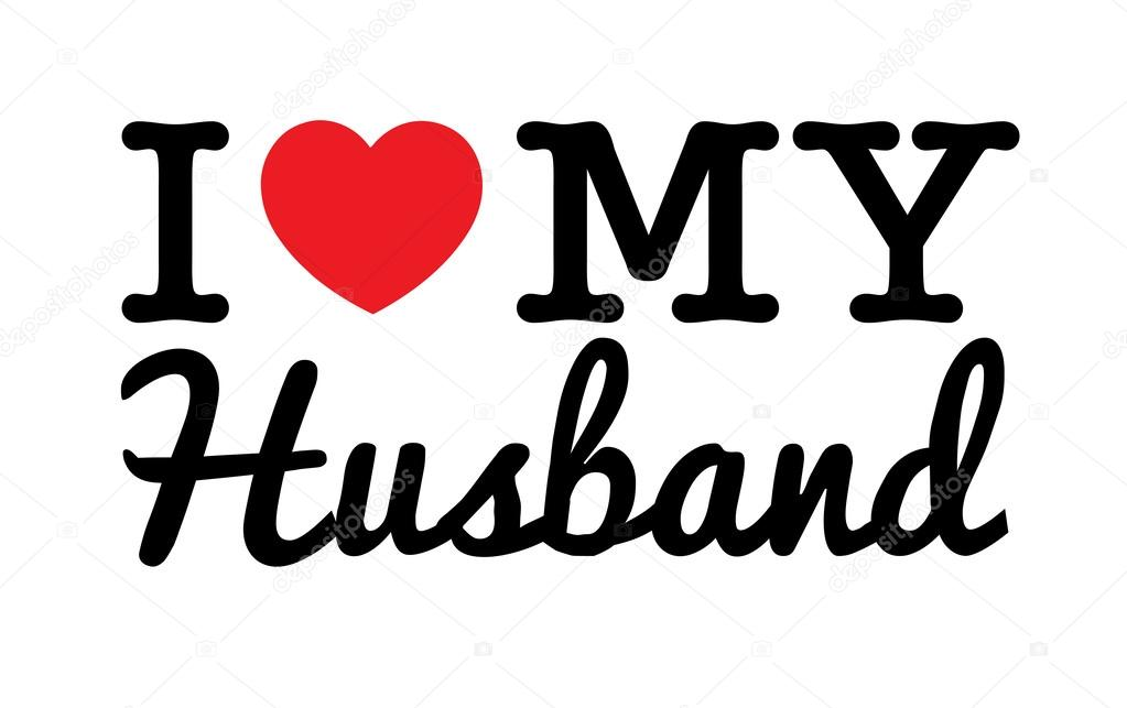 Download Pictures: love for my husband   I Love My Husband — Stock ...