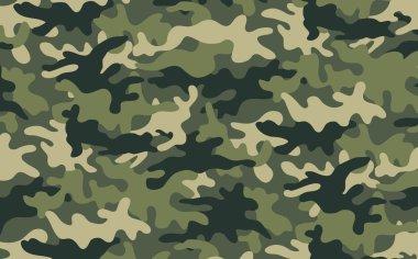 Vector illustration of modern camouflage pattern stock vector