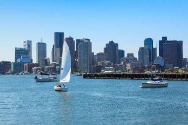 Boston skyline from East Boston, Massachusetts