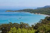 Fotografie Porquerolles Island Bucht in Frankreich
