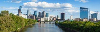 Panoramic skyline view of Philadelphia, Pennsylvania