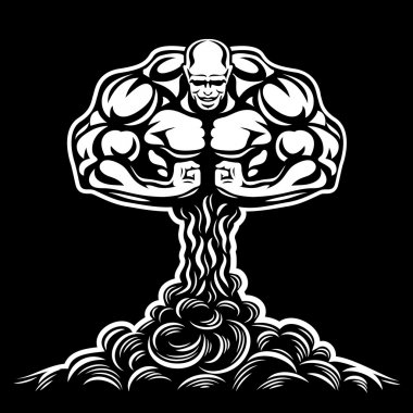Nuclear explosion bodybuilder