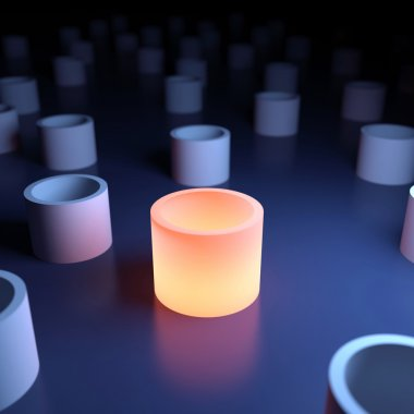 Unique luminous object