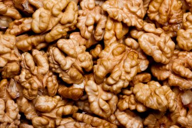walnuts as background