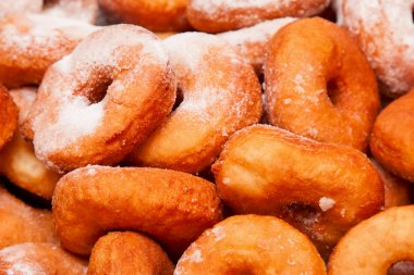 donuts as background