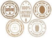 Készlet-ból termék allergia bélyegek