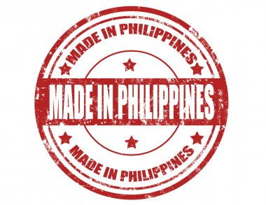 Made in Philippines-stamp