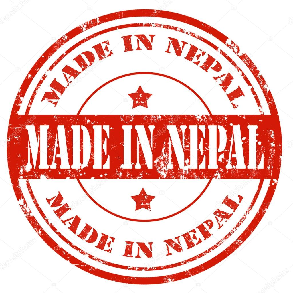 ✓ Grunge rubber stamp with text Made in Nepal,vector illustration ...