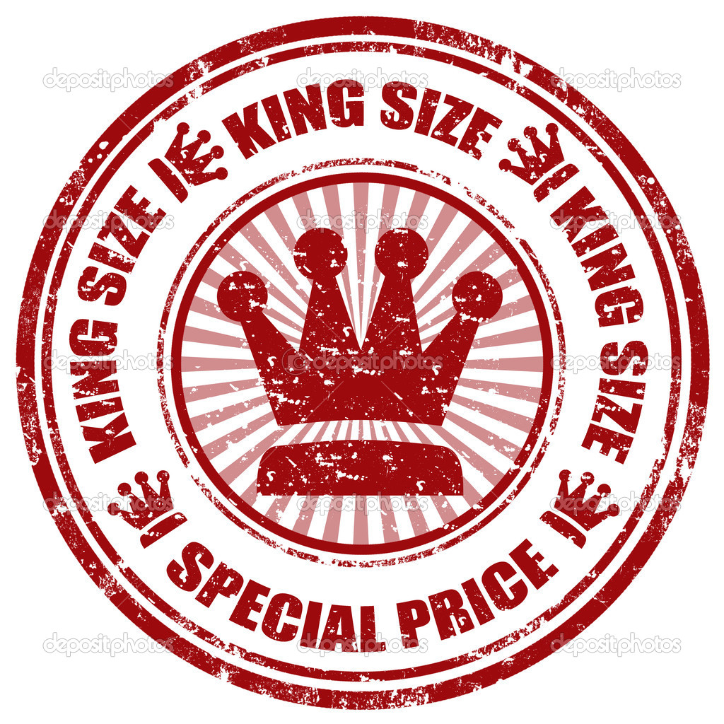 Grunge Rubber Stamp With Text King Size Special Pricevector Illustration Vector By Carmen Dorin