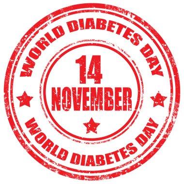 World Diabetes Day-stamp