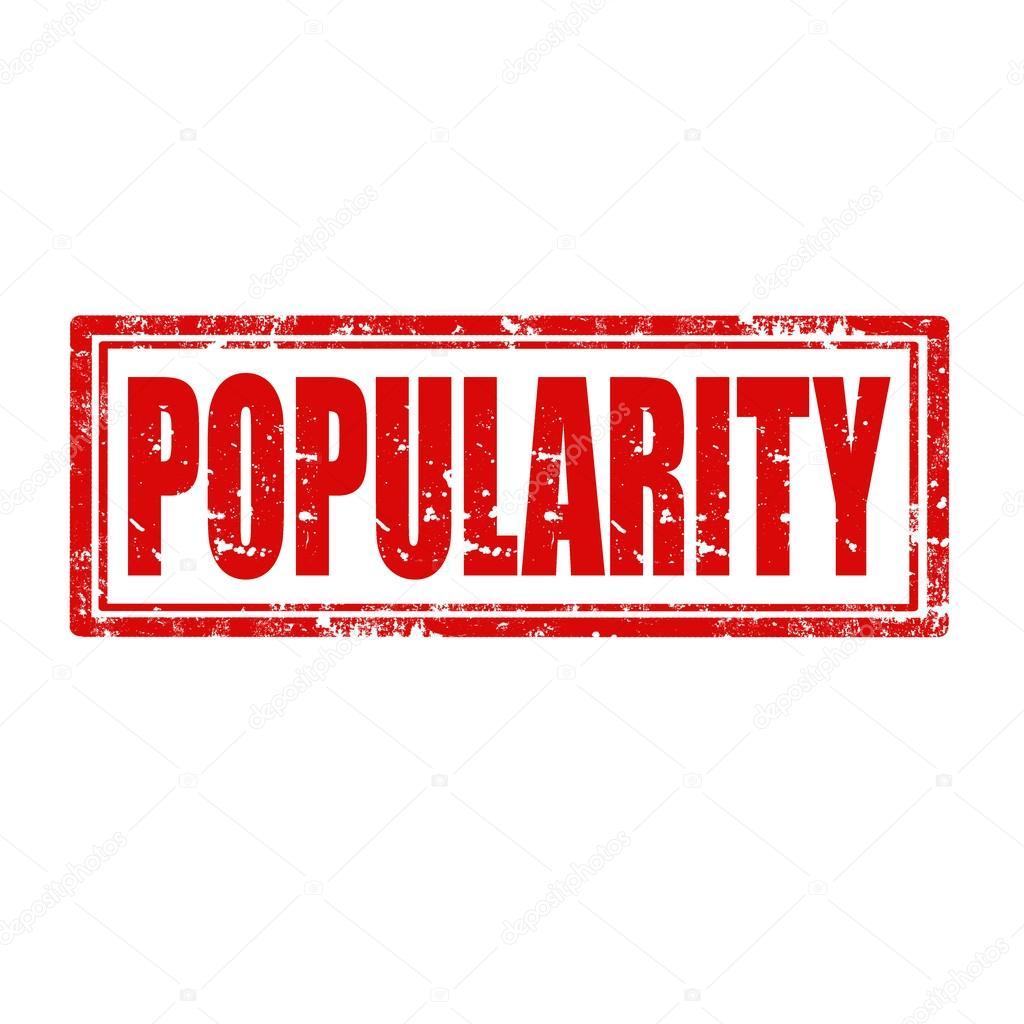 Resultado de imagem para popularidade palavra