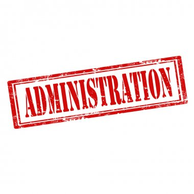 Administration-stamp