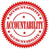 Fotografie Accountability-stamp