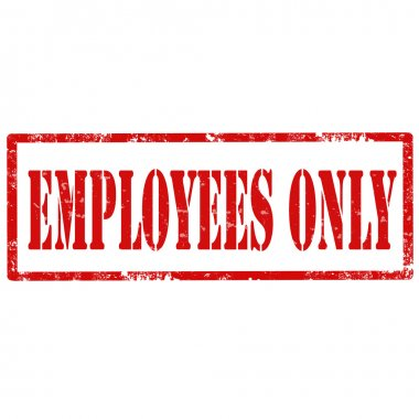 Employees Only-stamp