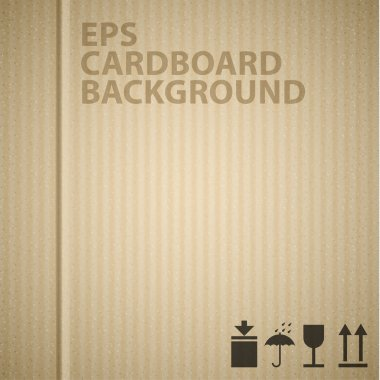 Vector cardboard background texture