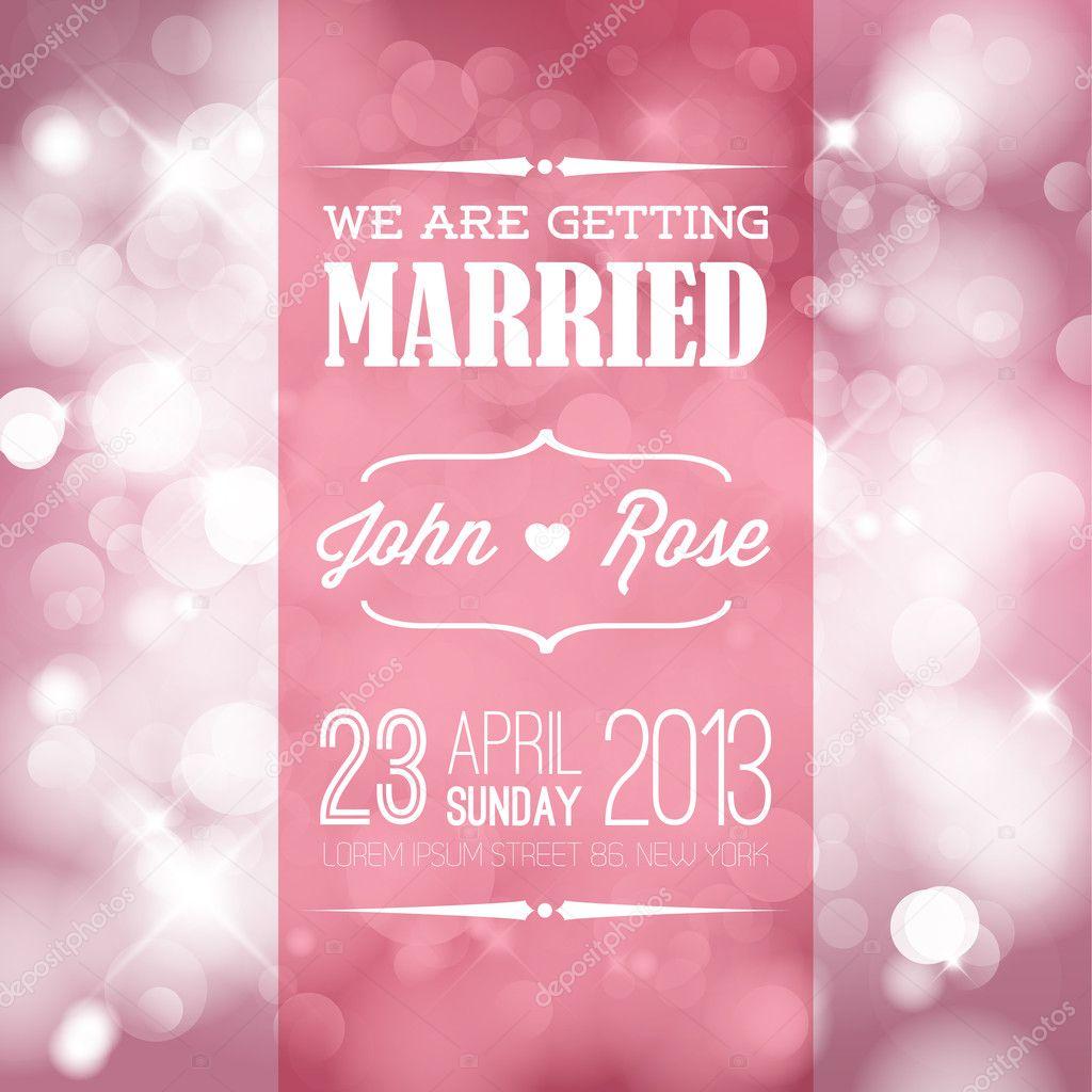 Lovely Wedding Invitation Pics Stock Photos All Sites