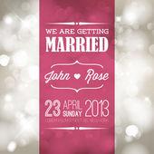 Fényképek vektor esküvői meghívó