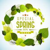 Fényképek tavaszi eladó vektor háttér