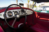 vintage car detail interior