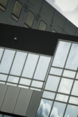 skleněná budova