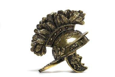 Small miniature roman helmet