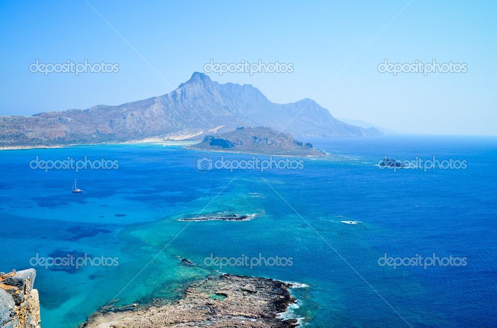View on Balos bay