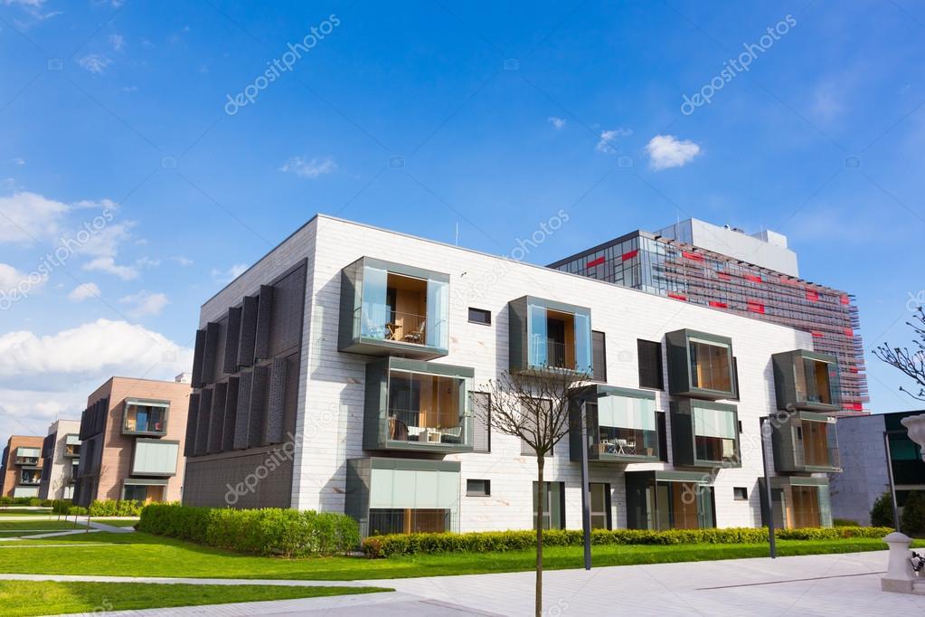 Architettura moderna residenziale foto stock kasto for Architettura residenziale contemporanea