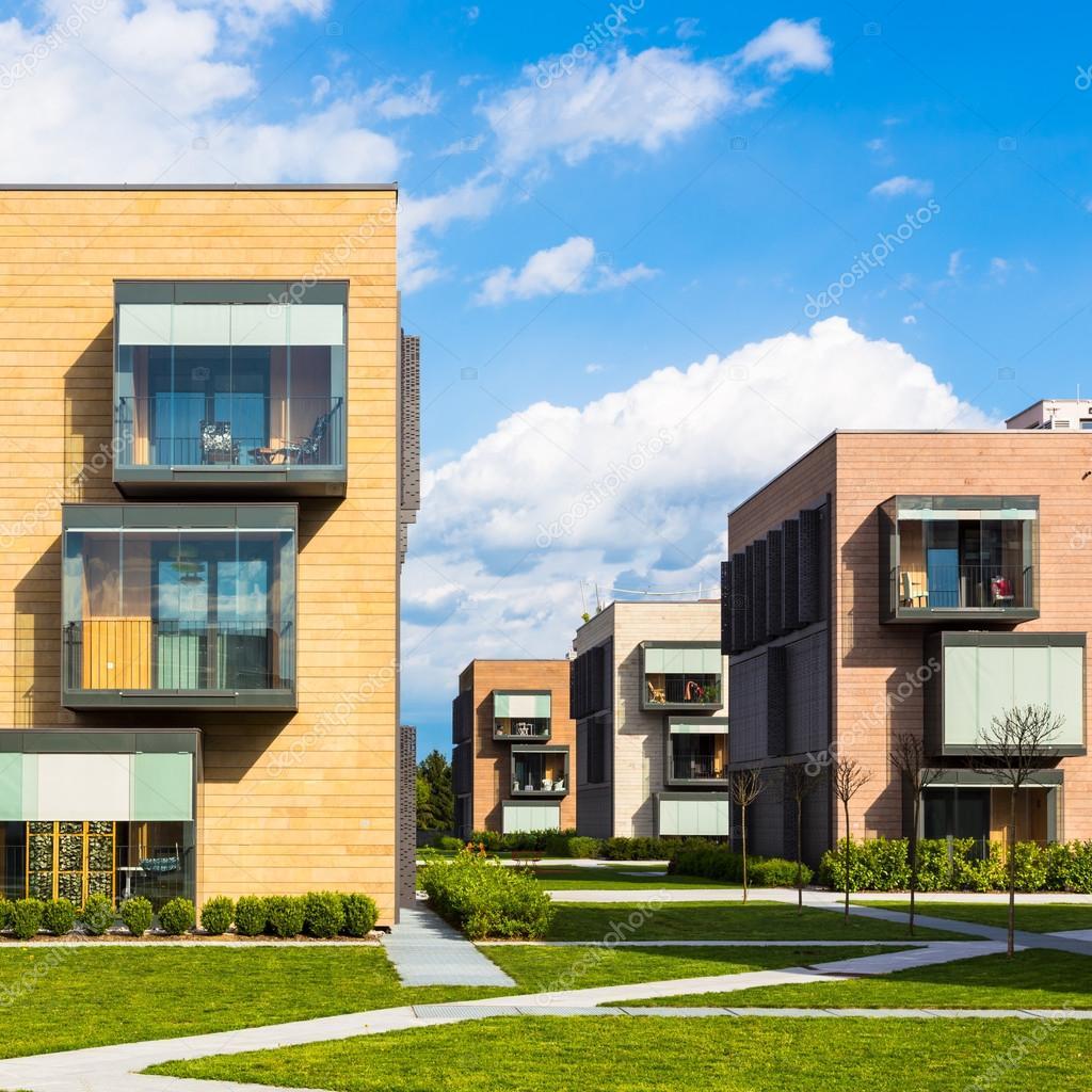 moderne Wohn-Architektur — Stockfoto © kasto #44516265
