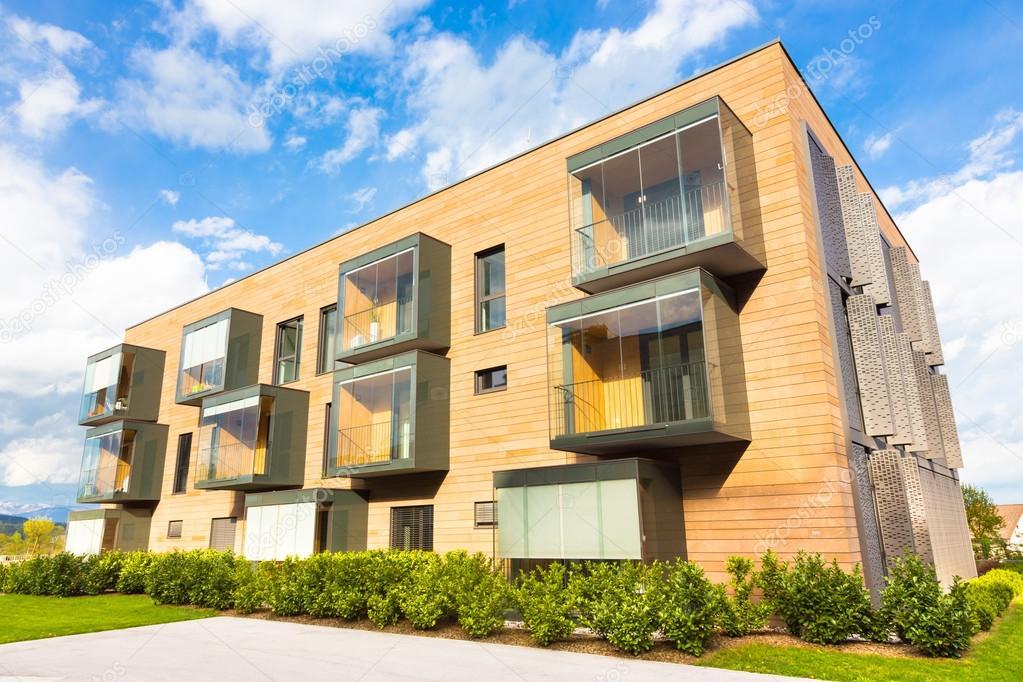 Architettura moderna residenziale foto editoriale stock for Eco architettura