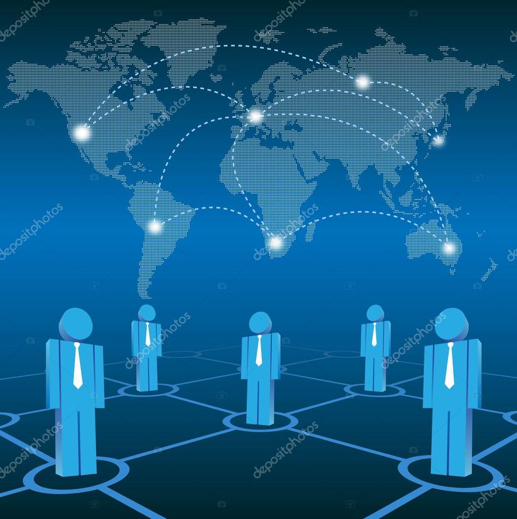 Vector social network