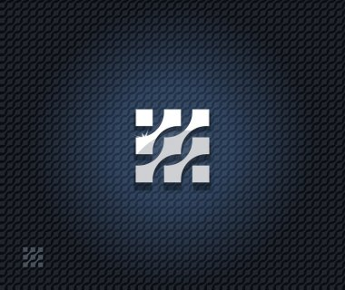 Abstract square symbol