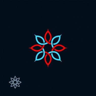 Eight petals symbol