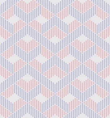 Dots symmetric abstract seamless pattern