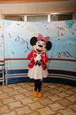 Orlando - Únor 3: Minnie Mouse, zobrazí se odjíždí z