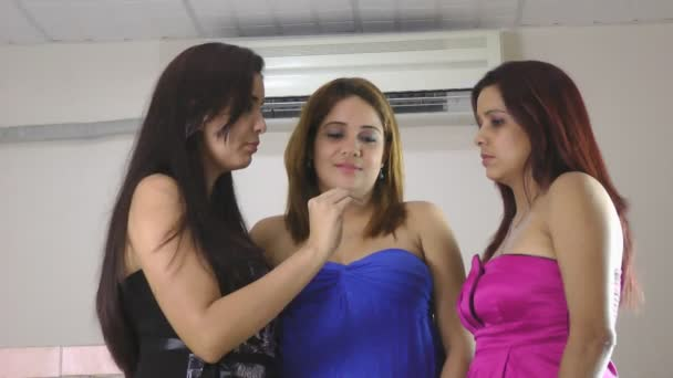 Women talking and gossiping