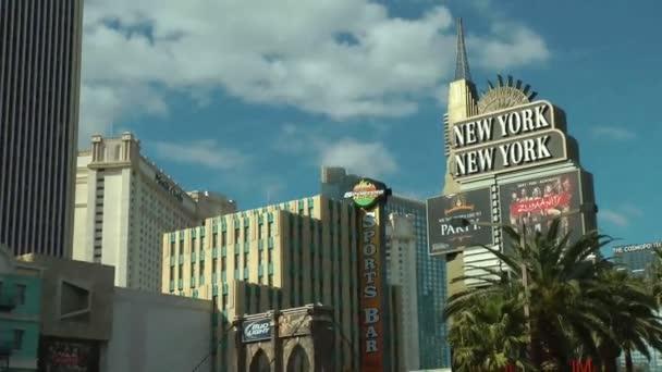 Las Vegas, ca. 2014: New York New York Hotel in Las Vegas auf ca. 2014: seine Architektur soll die Skyline von New York wecken.