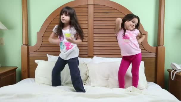 Little girls practicing their training. One for model and the other for Mixed Martial Arts