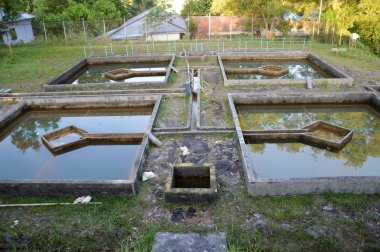 construction of drainage water filtration