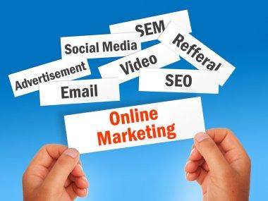 Online marketing.