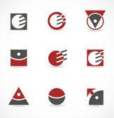 Sada symbolů pro logo