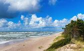 Fotografie schönen Blick auf die Ostsee