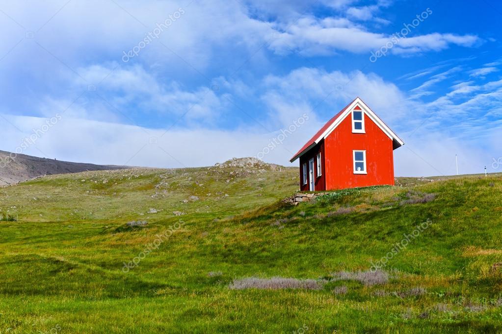 Casa na isl ndia fotografias de stock mac sim 27282451 - Casas en islandia ...