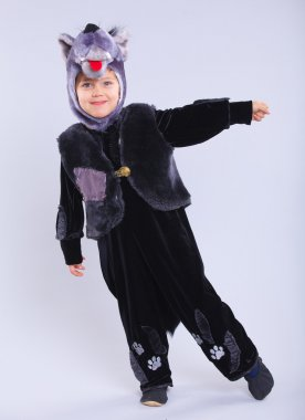 Child in fancy dress