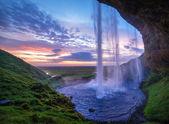 Seljalandfoss-Wasserfall