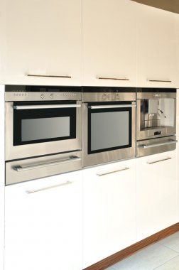 Kitchen cabinets and equipment