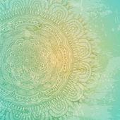 Fotografie dekorativní krajky pattern a grungy pozadí