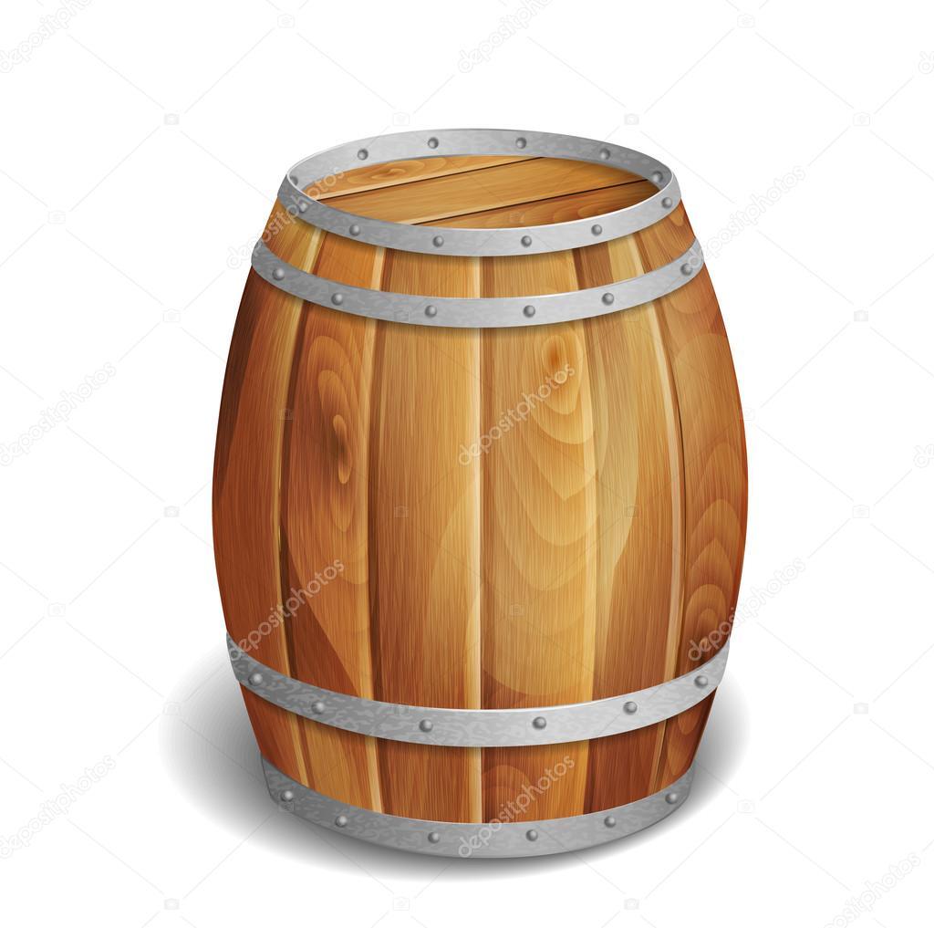Barril de madera vector de stock tory 31296715 for Bar barril de madera